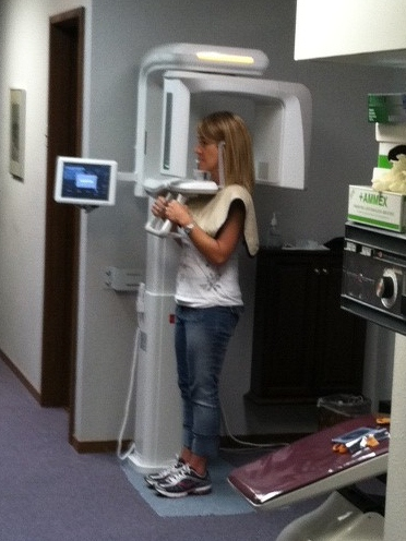 Patient Getting X Rays
